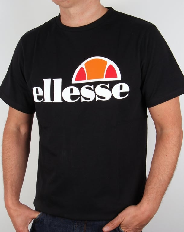 Ellesse Logo T-shirt Black