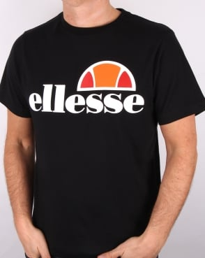 Ellesse Logo T Shirt Black