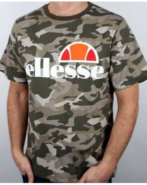 Ellesse Logo T Shirt Camo