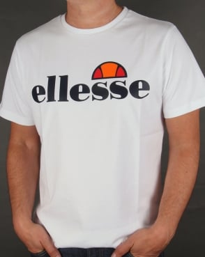 Ellesse Logo T-shirt White