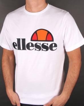 Ellesse Logo T Shirt White