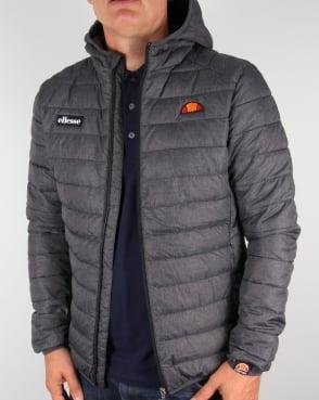 Ellesse Lombardy Bubble Jacket Graphite Grey