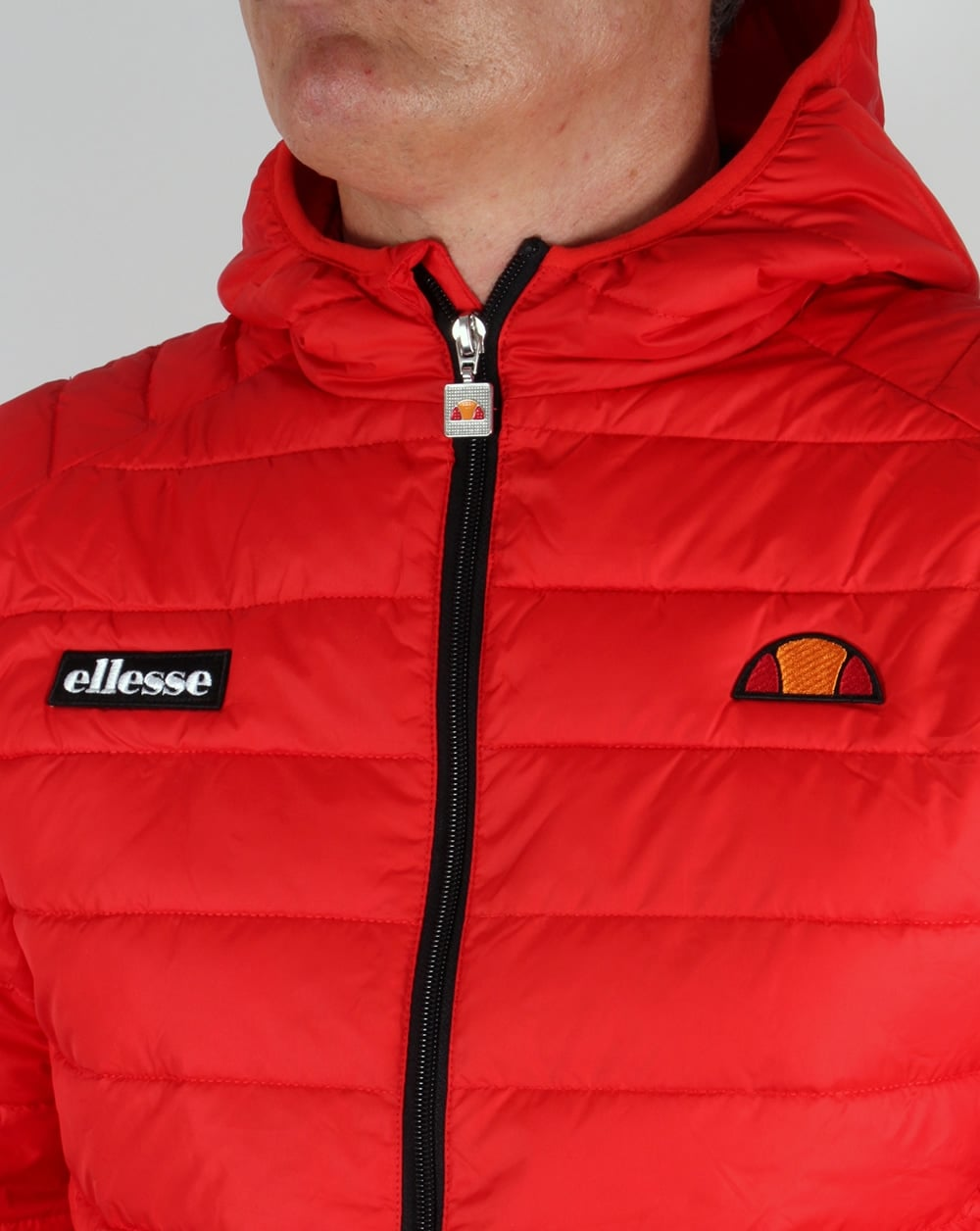 Ellesse Lombardy Jacket Red, Bubble, Padded, Puffer,ski ...