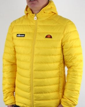 Ellesse Lombardy Jacket Yellow