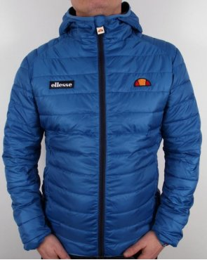 Ellesse Lombardy Puffer Jacket Royal Blue