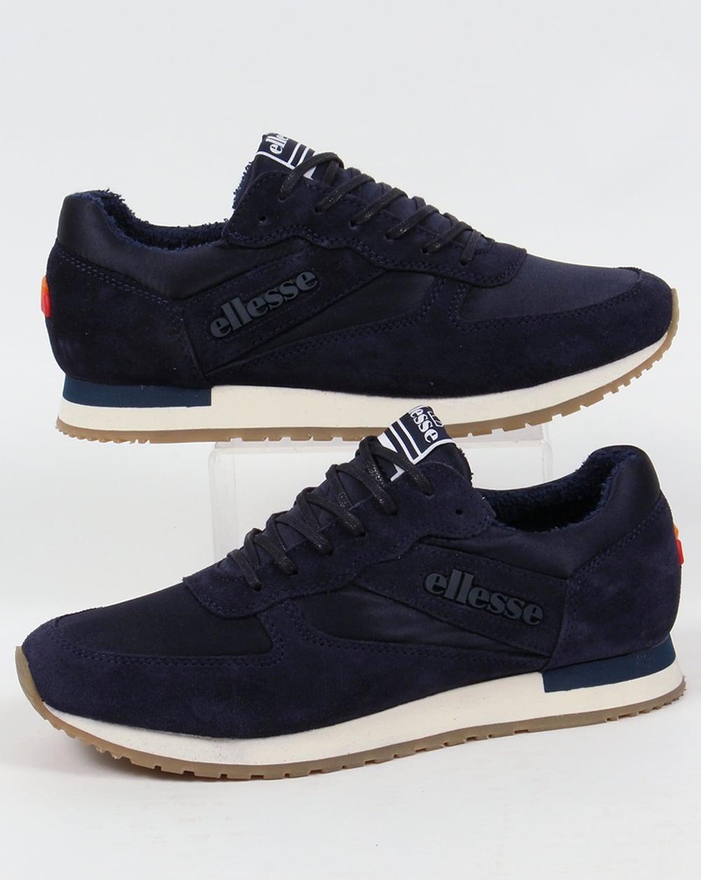 990b0f4ea Ellesse LS747 Runner Trainers Navy,suede,premium,shoes