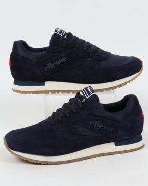 Ellesse LS747 Runner Trainers Navy