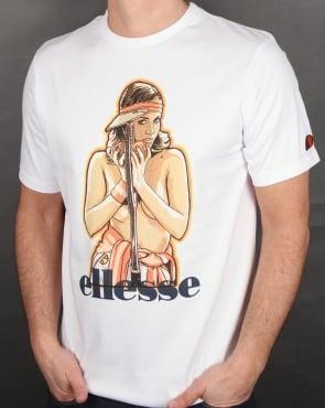 Ellesse Luciana T Shirt White