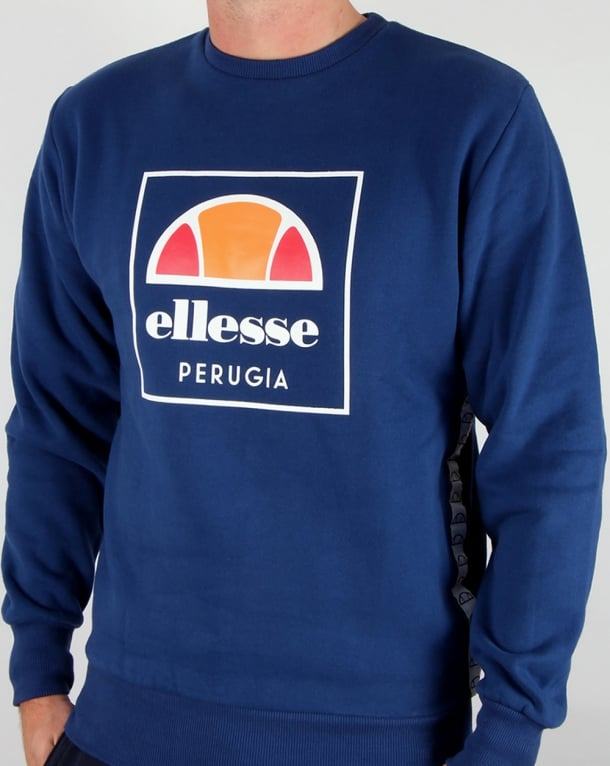 Ellesse Maffioli Sweatshirt Estate Blue
