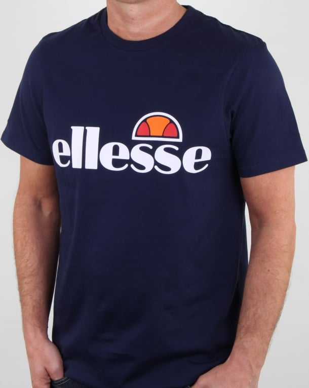 Ellesse Magliore Logo T Shirt Navy