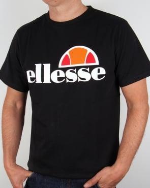 Ellesse Manarola Logo T-shirt Black