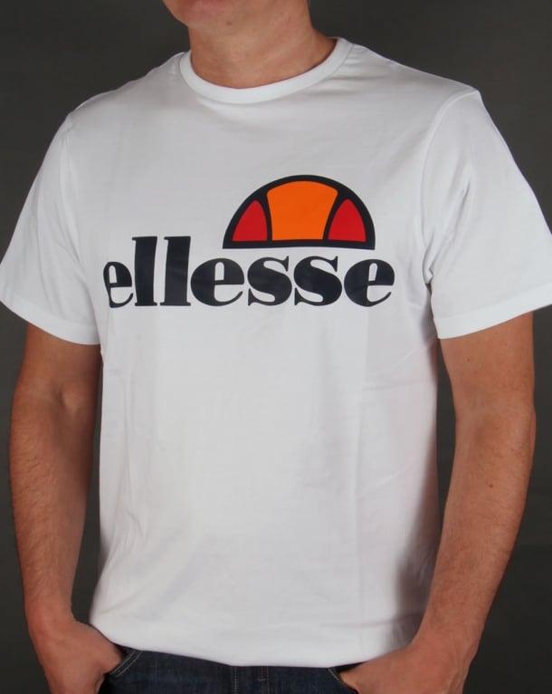 Ellesse Manarola Logo T-shirt White