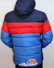 Ellesse Marinelli Padded Jacket Navy/red/royal Blue