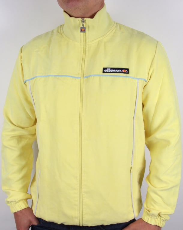 Ellesse Marzio Track Top Yellow