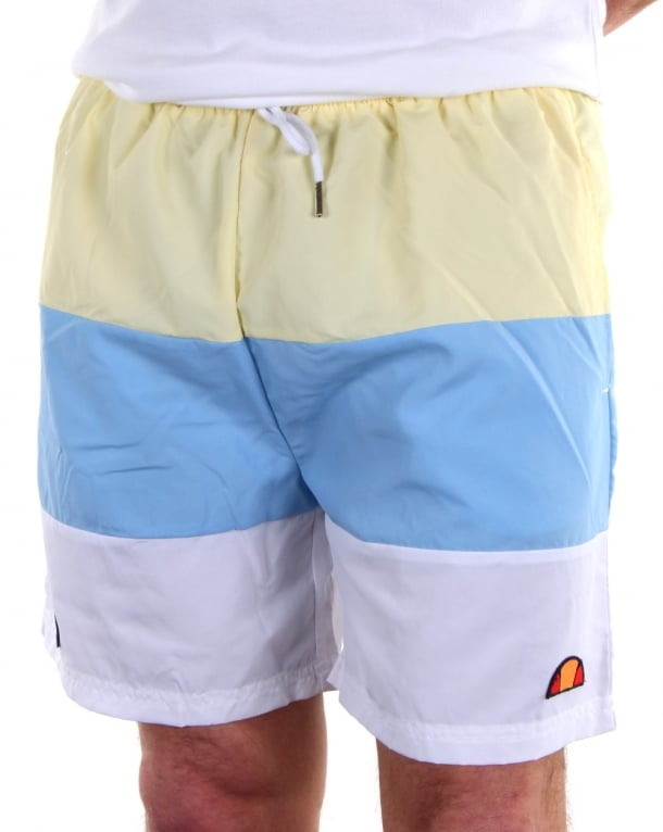Ellesse Massaccio Shorts Sky/Yellow/White