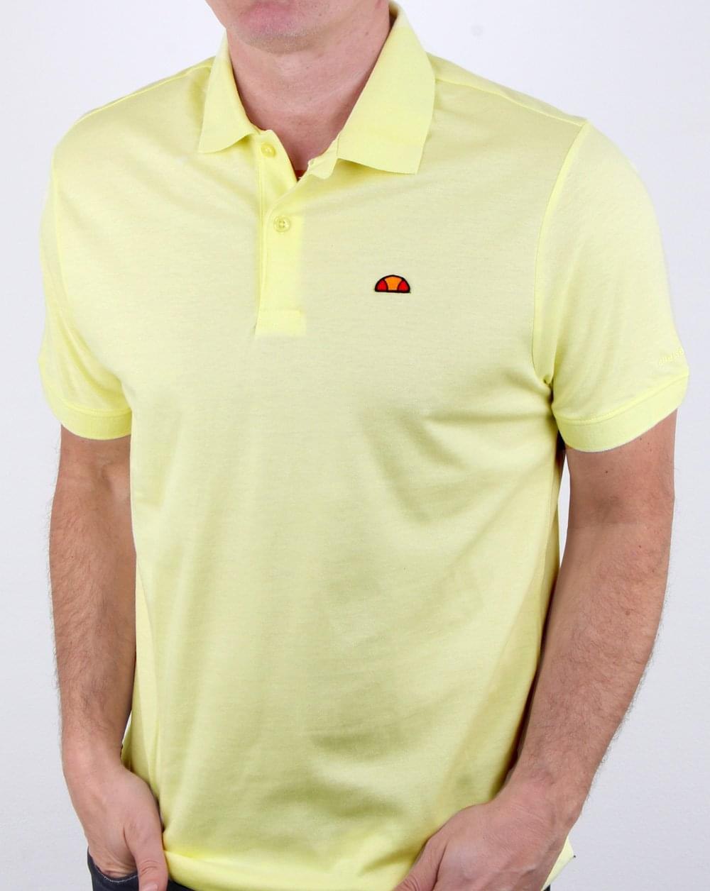 312f193a33 Ellesse Moncalieri Polo Shirt Yellow