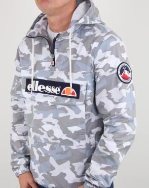 Ellesse Mont Canvas Jacket Grey Camo
