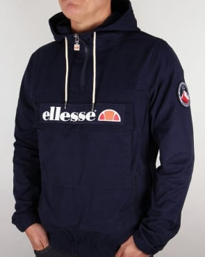 Ellesse Mont Canvas Jacket Navy