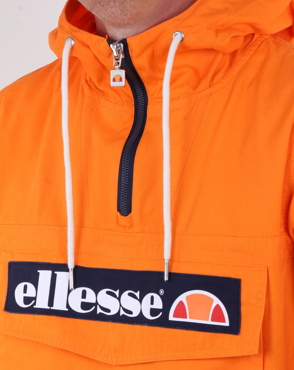 Mont Canvas Pouch Hood Mens Orange Hwq00o Ellesse Jacket dwOII5