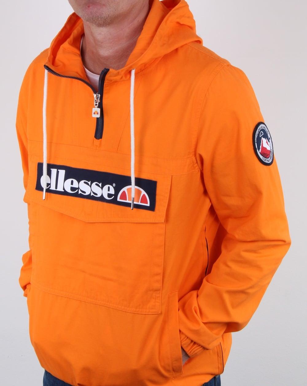 Ellesse Mont Canvas Jacket Orange Mens Jacket Mont