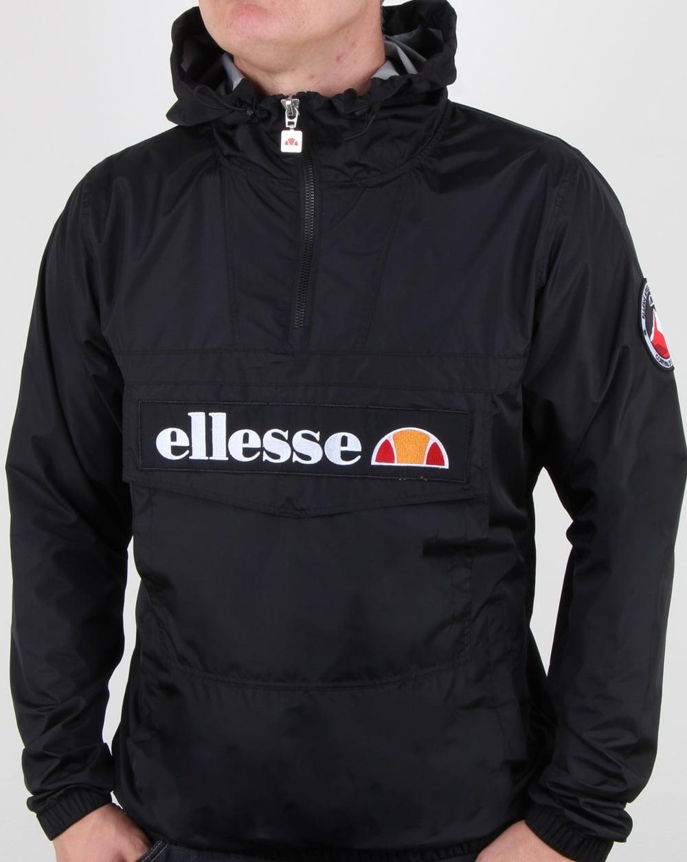 ef59feb7 Ellesse Mont Light Festival Jacket Black