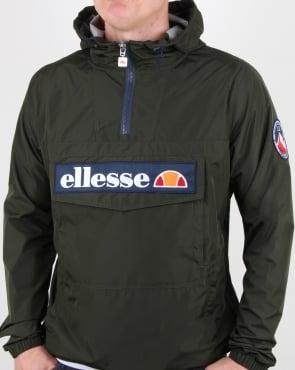 Ellesse Mont Light Festival Jacket Dark Olive