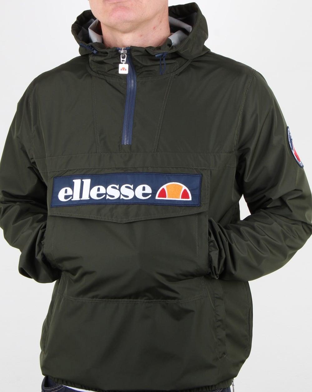 promo code 690de a9de5 Ellesse Mont Light Festival Jacket Dark Olive