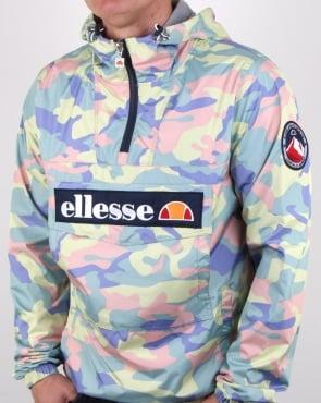 Ellesse Mont Lightweight Jacket Coloured Camo