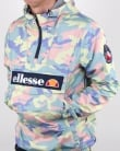 Ellesse Mont Lightweight Jacket Coloured Camo