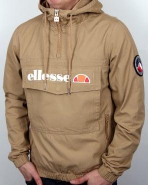 Ellesse Mont Quarter Zip Jacket Tannin