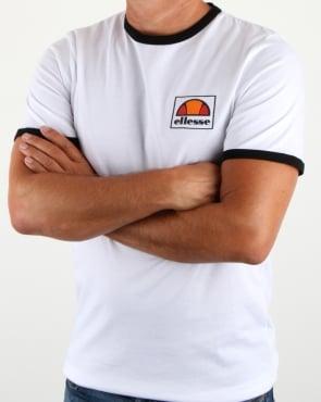 Ellesse Monte T Shirt White