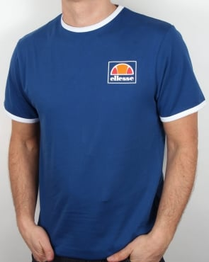 Ellesse Montefello T Shirt Royal Blue