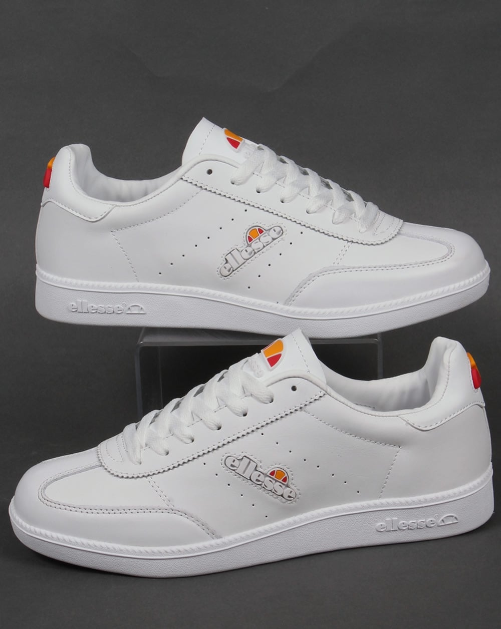 latest releases how to buy competitive price Ellesse Napoli Trainers White