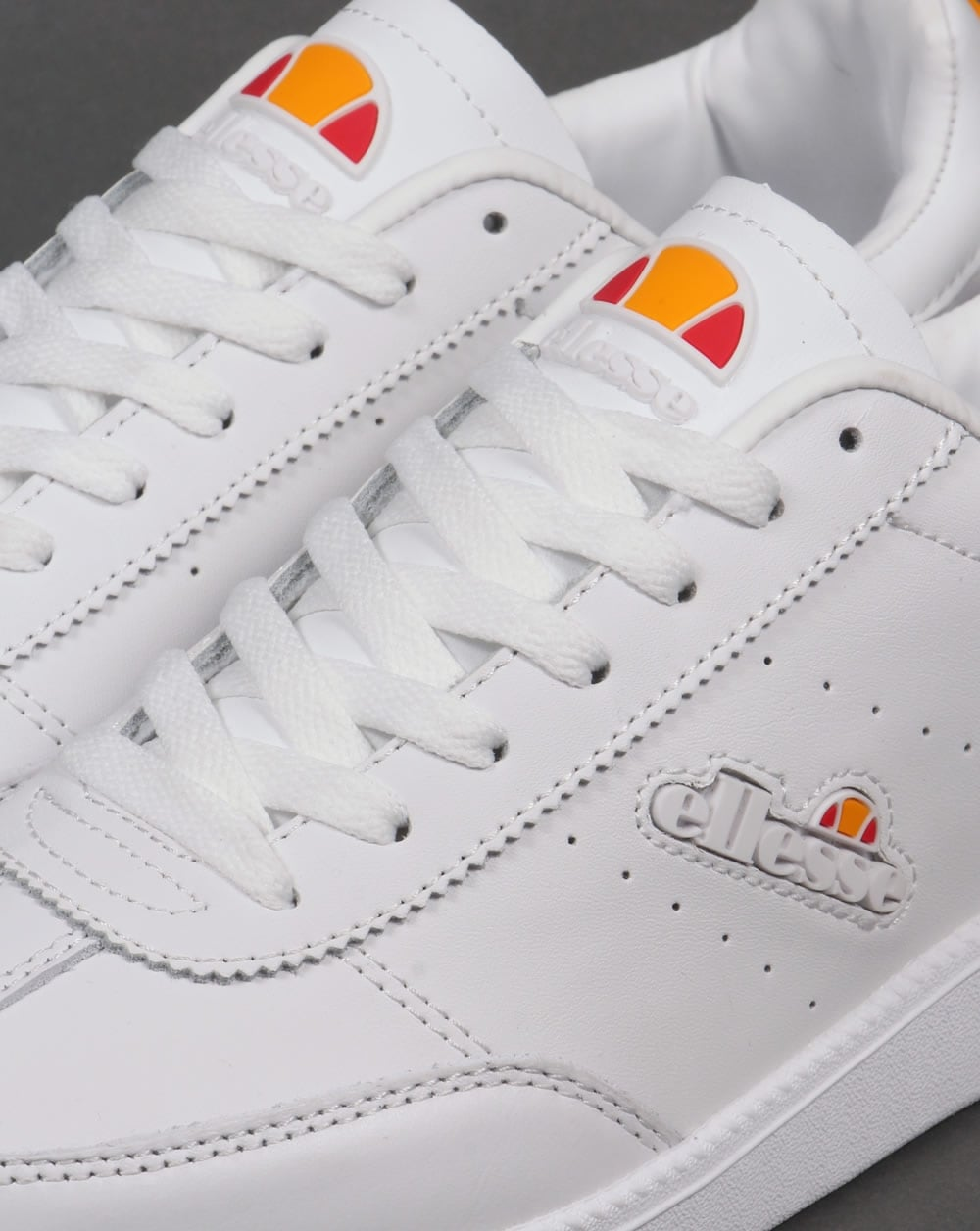 Ellesse Napoli Trainers White,leather