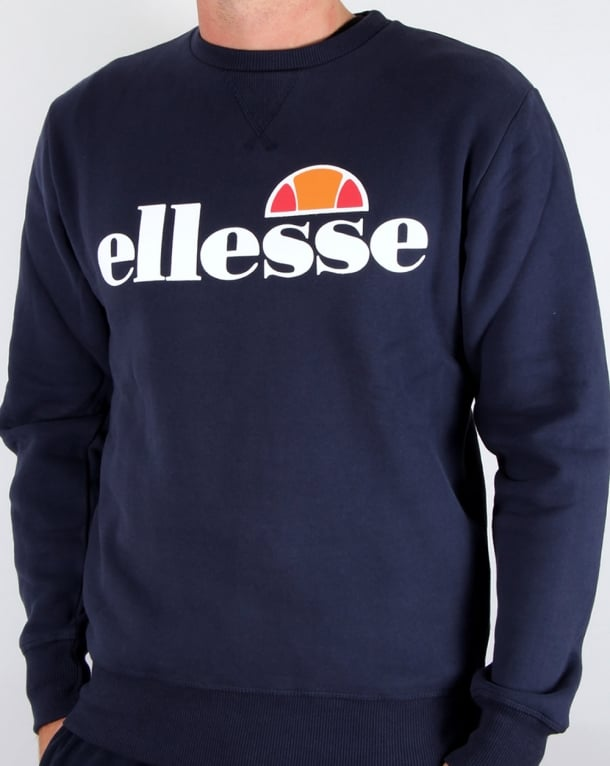 Ellesse New Logo Sweatshirt Navy