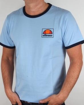 Ellesse New Ringer T-shirt Sky Blue