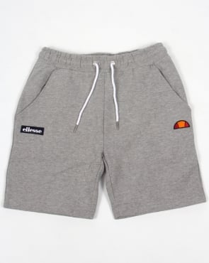 Ellesse Noli Fleece Shorts Grey Marl