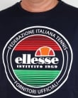 Ellesse Old Skool Logo T-shirt Navy