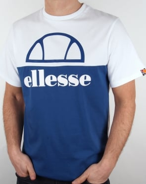 Ellesse Olympico T Shirt White/Royal
