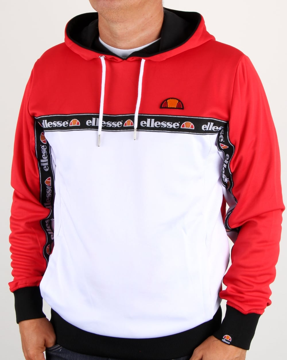 092d9f0e38 Ellesse Ottey Oh Hoody True Red/white