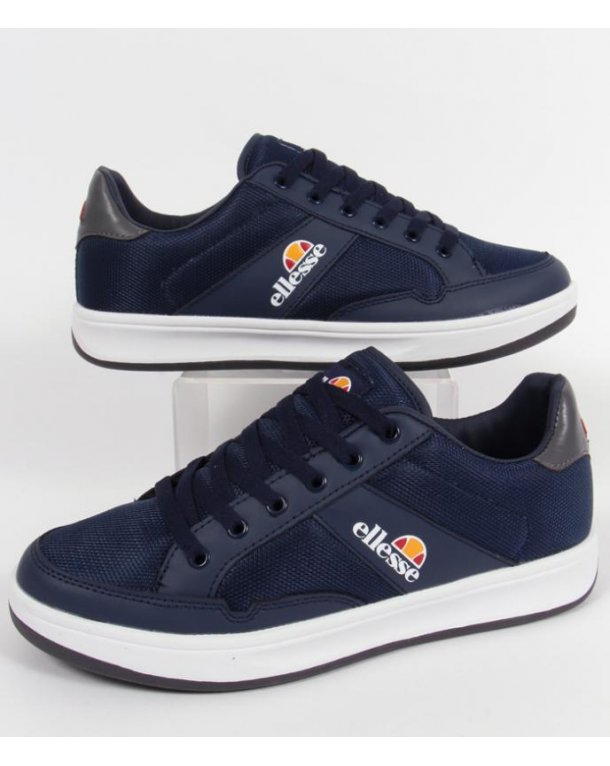 Ellesse Pavia Trainers Navy