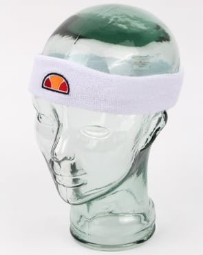 Ellesse Pebby Headband White