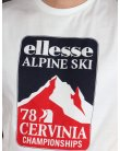 Ellesse Penguin Alpine T-shirt White