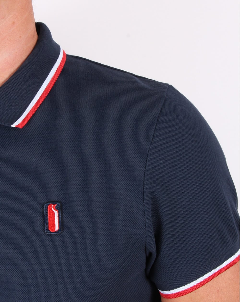 d8f4caf69 Ellesse Penguin Avalanche Tipped Polo Shirt Navy, Men's, Top