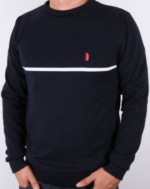 Ellesse Penguin Bormio Cotton Jumper Navy