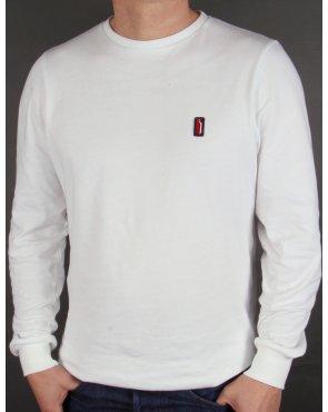 Ellesse Penguin Ettore Long Sleeve T-shirt White