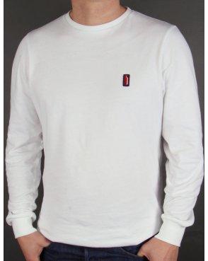 Ellesse Penguin Long Sleeve T-shirt White