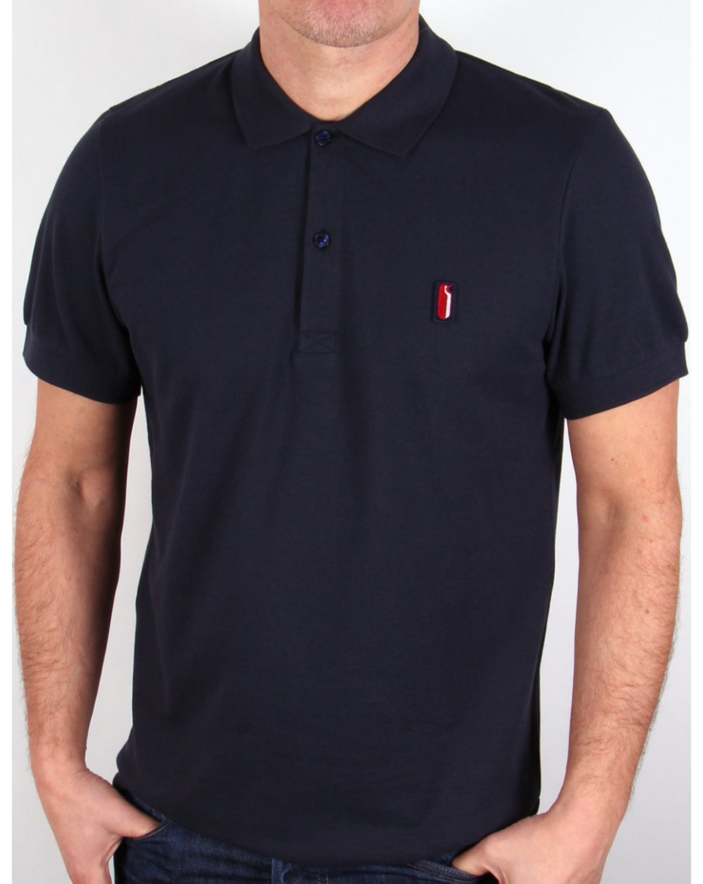 6febd2a220 Ellesse Penguin Polo Shirt Navy Blue