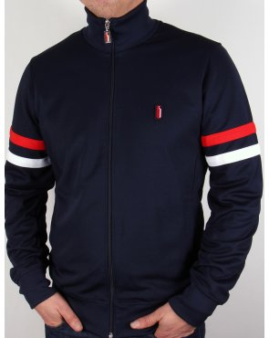 Ellesse Penguin Thoeni Track Top Navy Blue