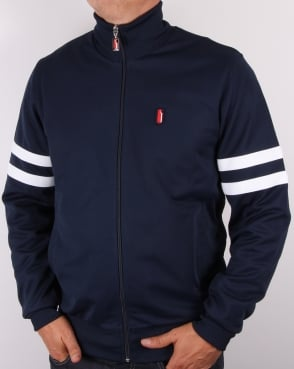 Ellesse Penguin Thoeni Track Top Navy/white